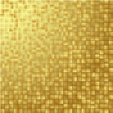 Gold glittering background Stock Image