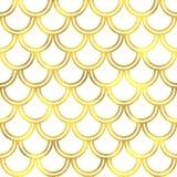 Gold glittering foil seamless pattern Stock Image