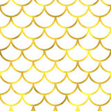 Gold glittering foil seamless pattern Royalty Free Stock Photos