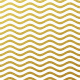Gold glittering wave background Stock Image