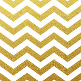 Gold glittering zigzag pattern Royalty Free Stock Photo