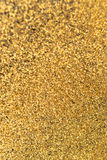 Gold glitters. Stock Photos