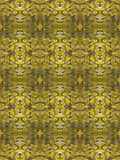 Gold Glittter Filigree Seamless Tile Royalty Free Stock Photography