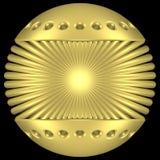 Gold globe Stock Photography