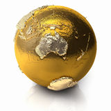 Gold Globe - Australia Stock Photos
