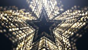 Abstract Luxury Premium  Background. Gold Glowing Glitter Diamond Stars Awards Luxury Elegant Background.