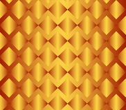Gold gradient abstract backdrop. Golden vector geometric background with rhombus. Gold gradient abstract backdrop, wallpaper Stock Photography