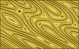 Gold gradients abstract geometric background. Abstract golden surface design. gold gradients of lines and curves pattern for backgrounds, wallpapers, backdrops Royalty Free Stock Image