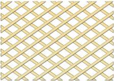 Gold Grating. Illustration of a Gold Grating vector illustration