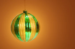 Gold and green Royalty Free Stock Images