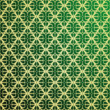 Gold and green background Royalty Free Stock Photography