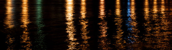 Free Gold Green Blue Reflection In River Stock Photos - 47250063