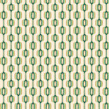 gold green pattern retro Στοκ εικόνα με δικαίωμα ελεύθερης χρήσης