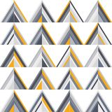 Gold and grey geometric seamless pattern vector illustration