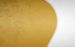 Gold and grey grunge background Royalty Free Stock Photos