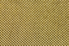 Gold grid background Royalty Free Stock Image