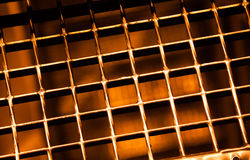 Gold grill Stock Photos