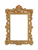 Gold grunge frame Royalty Free Stock Image