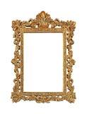 Gold grunge frame royalty free stock image