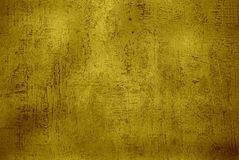 Gold grunge texture Stock Photos