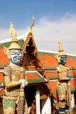 Gold Guards In Grand Palace, Bangkok, Thailand Royalty Free Stock Photography