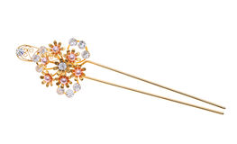 Free Gold Hairpin Stock Photography - 38708742