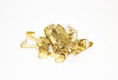 Gold hakt Haufen Lizenzfreies Stockfoto