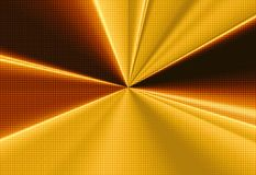 Gold halftone Stock Photography