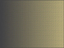 Gold halftone abstract doted background Stock Images