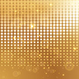 Gold halftone background template Stock Photos