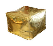 Gold hassock Royalty Free Stock Photo