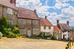 Gold Hill Shaftesbury Dorset Royalty Free Stock Photo
