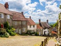 Gold Hill Shaftesbury Dorset Stock Image
