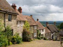 Gold Hill  Shaftesbury Royalty Free Stock Images