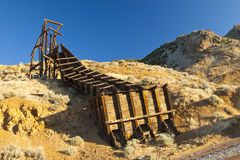 Gold Hill Vintage Mine royalty free stock image