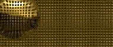 Gold holes abstract Stock Photos