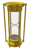 Gold hourglass Stock Photo