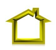 Gold house Stock Photos