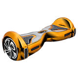 Gold hover board Royalty Free Stock Photos
