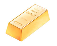 Gold ingot Royalty Free Stock Image