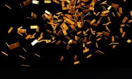 Gold ingots Royalty Free Stock Photo