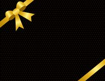Gold invitation / background Royalty Free Stock Image