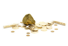 Gold Items Stock Image