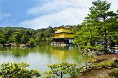 Gold Japanese Temple Stock Photos