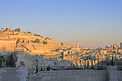 Gold Jerusalem. Kind on old city. Gold Jerusalem Stock Photography