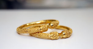 Gold jewellery Stock Image