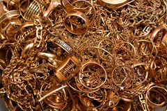 Gold Jewelry Stock Photos