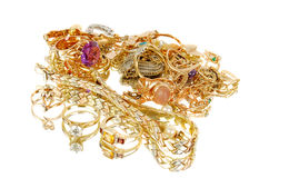 Gold Jewelry. Stock Photography