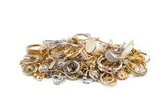 Gold jewelry Stock Image
