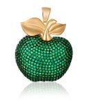 Gold jewelry. Pendant. Royalty Free Stock Photo